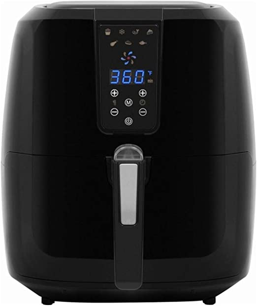 Chef di Cucina - Nutri AirFry 5.5L Digital Air Fryer - Black