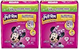 Health & Personal Care : Pull-Ups Learning Designs Potty Training Pants for Girls, 3T-4T (32-40 lb.), 22 Count with Bonus Magnetic Diaper Size and Weight Chart (Pack of 2)