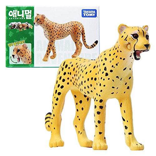 Takara Tomy ANIA AS-13 ANIMAL Cheetah Mini Action Figure Educational Toy