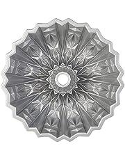 Nordic Ware 92877 Cut Crystal Cast Bundt Pan, 10 Cup Capacity, Gold