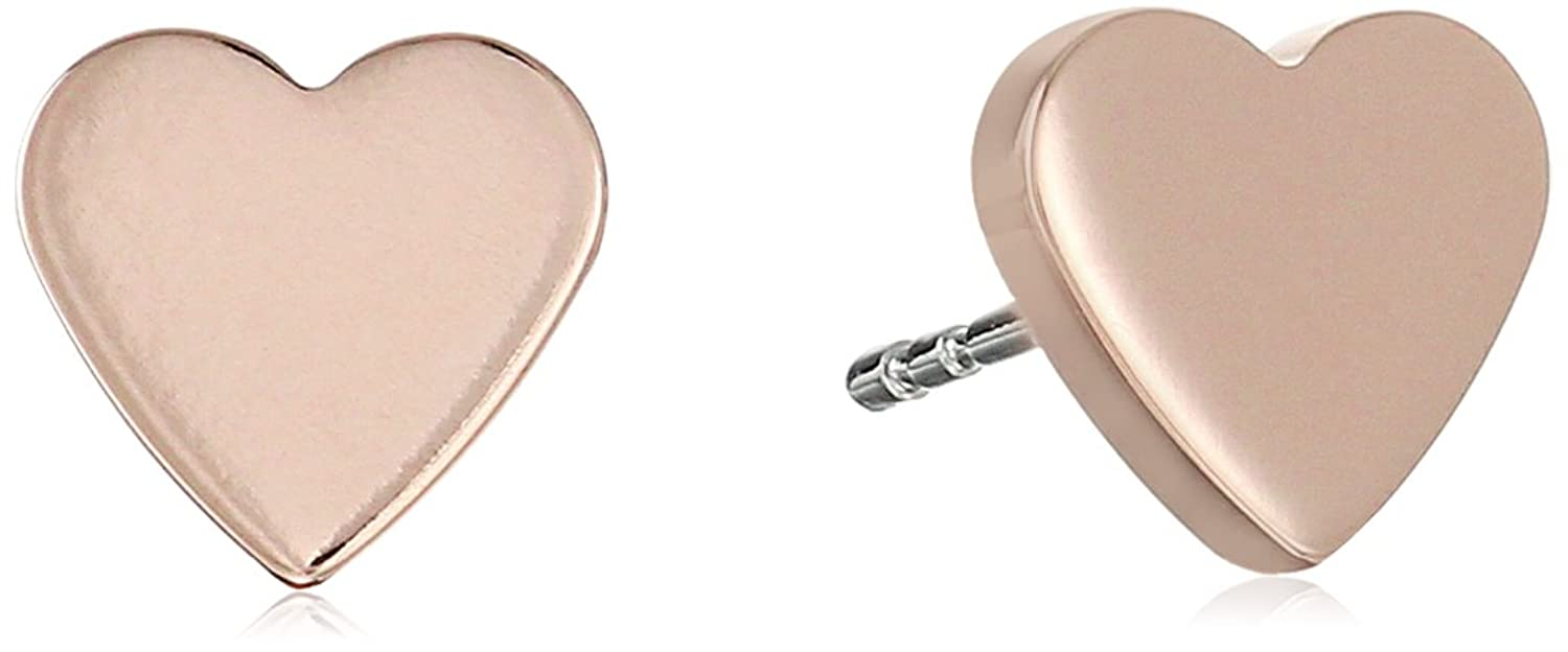 Fossil Women's Rose Gold Earrings JF02402791 gBNZfVpC