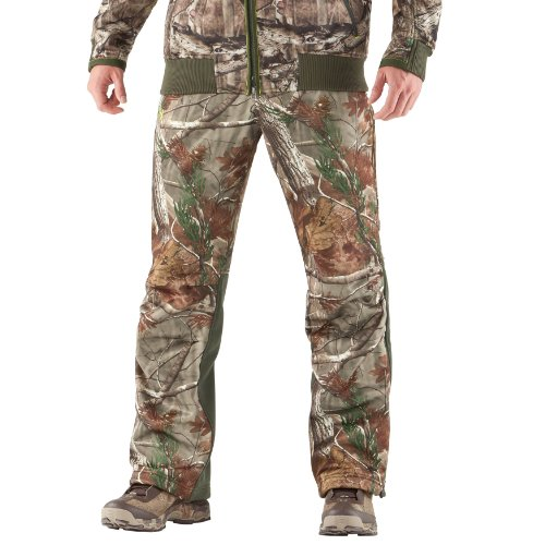 Men's UA Deadcalm Scent Control Pants Bottoms by Under Armour 40 Realtree AP