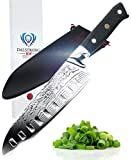 "DALSTRONG Santoku Knife - Shogun Series - VG10 - 7"" (180mm)"