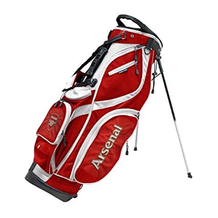 Amazon.com: Arsenal F.C. – Bolsa de soporte de golf de lujo ...