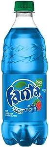 Fanta Soda Fruit Flavored Soft Drink 20 Ounce bottles (Berry)