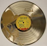 "Frank Sinatra Limited Edition Gold Clad 12"" LP Laser Cut Record Wall Display."