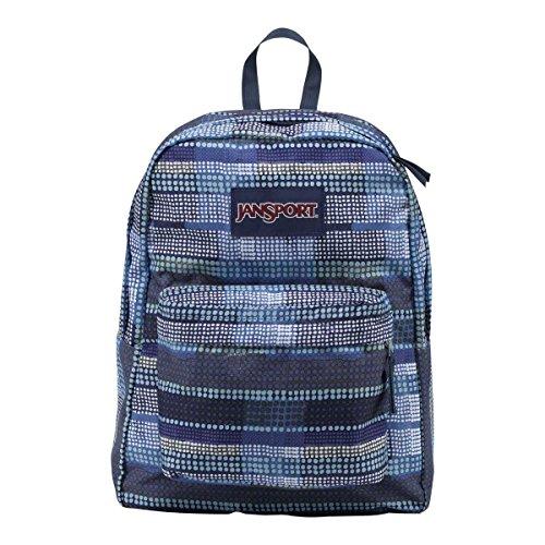 JanSport Unisex SuperBreak Multi Dotty Stripe Backpack by JanSport