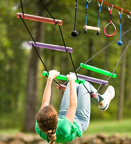 - ANA Store Field Train Hardship Way Collection Versatile Backyard Obstacle Course Kit for Exercise Practice Patience Deluxe Ninja line