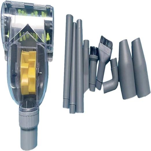 Cepillo Turbina de Aspiradora Universal Colector de Polvo de Ciclón - 32mm - 10 Unidades: Amazon.es: Hogar