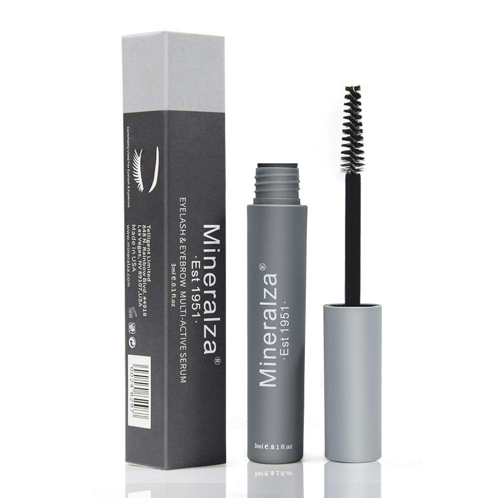 mineralza.Lash growth enhancer and eyebrow essence containing natural plant by MINERALZA