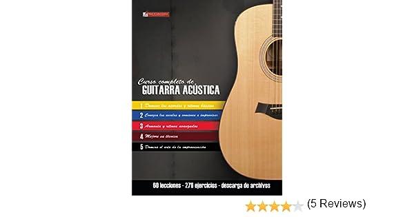 Curso completo de guitarra acústica: Método moderno de técnica y teoría aplicada eBook: Miguel Antonio Martinez Cuellar: Amazon.es: Tienda Kindle
