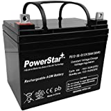 PowerStar 12V 35AH U1 Deep Cycle AGM Solar Battery Replaces 33Ah, 34Ah, 36Ah