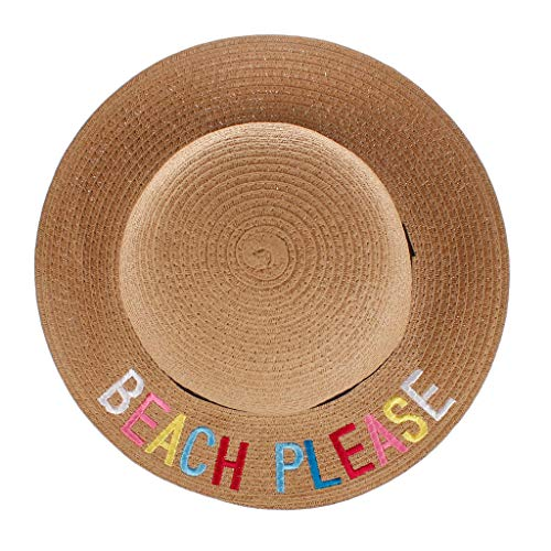 MOGOV Summer Baby Boys Girls Summer Casual Breathable Fashion Straw Hat Suitable for a Variety of Occasions