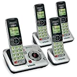 Best Home Phone Systems - VTech CS6429-4 DECT 6.0 Expandable Cordless Phone Review