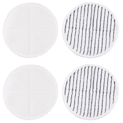 4 Pack Mop Pads for Bissell Spinwave 2039A 2124 Powered Hard Floor Mop by Ximoon (Image #1)