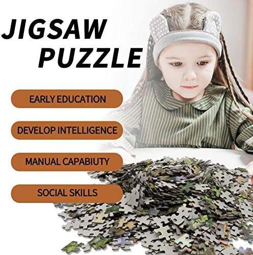 TOYUMA Jigsaw Puzzle for Adults 1000 Pieces-Rainy Morning Walk