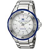 Technomarine Men's 'Manta' Automatic Stainless Steel Casual Watch, Color:Silver-Toned (Model: TM-215092)