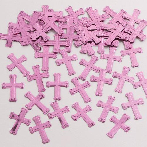 Pink Cross Confetti (Creative Converting - Pink Cross Confetti)