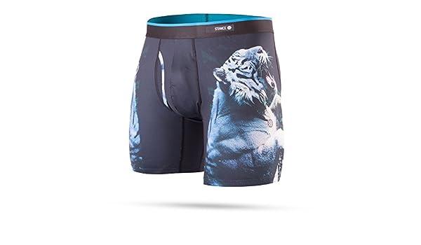 Calzoncillos Boxer Stance White Tiger Negro (L, Negro): Amazon.es: Ropa y accesorios