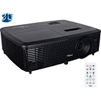 Optoma Full 3D XGA 3300 Lumen DLP Projector with Superior Lamp Life - (Certified Refurbished)