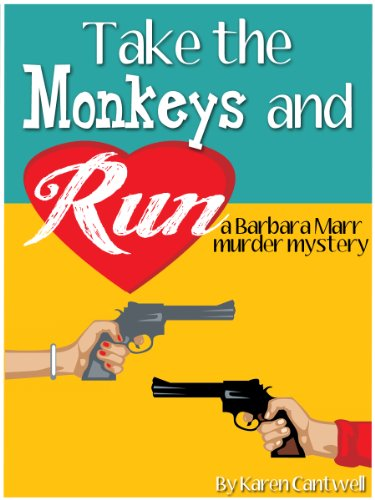 Less Than 5 Days to Enter: Author Karen Cantwell is Sponsoring This Week's KINDLE FIRE Giveaway Sweepstakes on Behalf of Her Novel TAKE THE MONKEYS AND RUN!