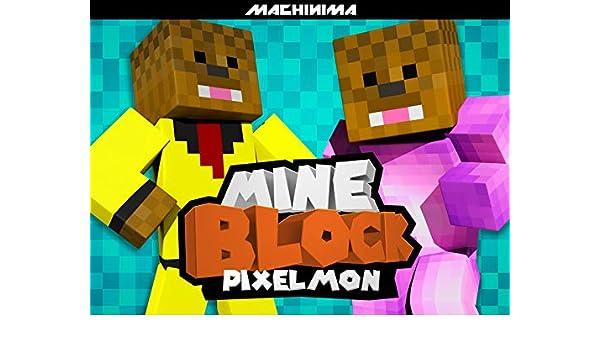 Amazon com: Watch Clip: Mine Block: Pixelmon   Prime Video