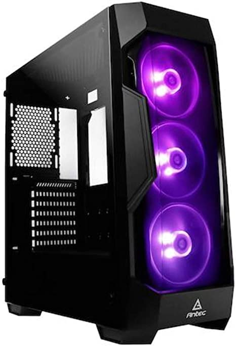 Antec DF500 RGB Midi-Tower Negro - Caja de Ordenador (Midi-Tower ...