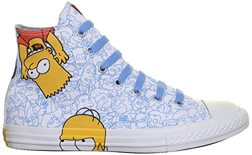 Converse All Star Simpsons Homer Bart Junior Colab Toile