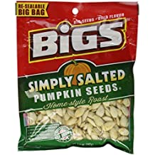 Bigs, Pumpkin Seeds, Home-Style Roast, Simply Salted (Pack of 4)