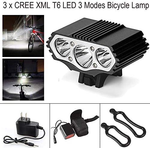 Fahrradbeleuchtung mit CREE XML T6 LED und USB Stecker in