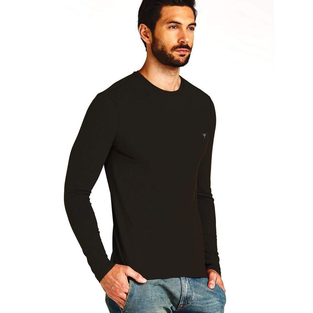 Guess Jeans M84I00J1300 T-Shirt Maniche Lunghe Uomo
