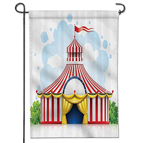 Philiphome Patriotic Garden Flag,Double-sided,eStriped Strol