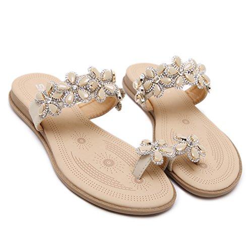 código sandalias Código grandes zapatos Donyyyy zapatos planos Forty zapatos de mujer planas grandes YfWqxHp6
