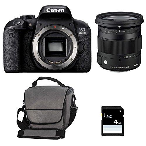 CANON EOS 800D + SIGMA 17-70 F2,8-4 DC Macro OS HSM Contemporary + ...