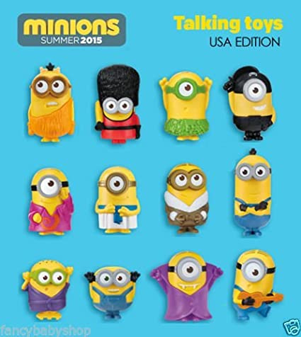 Amazon.com: 2015 McDonald s Happy Meal juguetes Minion ...