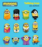 2015 Mcdonald's Happy Meal Toys Minion Complete Set