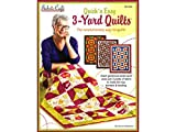 Fabric Cafe Quick N' Easy 3 Yard Quilts Bk N Back