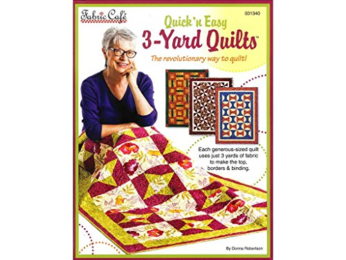 Fabric Cafe Quick N' Easy 3 Yard Quilts Bk N Back by Fabric Cafe