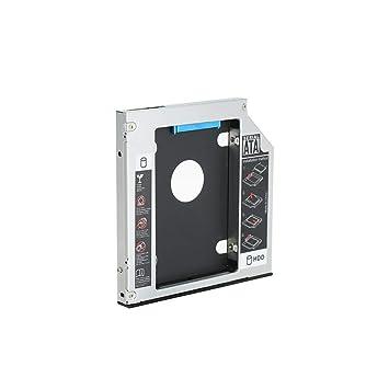 Docooler Unidad de Disco Duro Caddy Tray SATA 2nd HDD SSD para CD ...