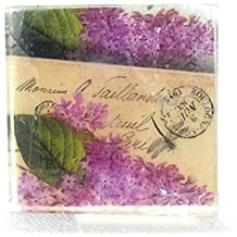 Pretty Flowers Postcard theme soap, Mixed Lilac Big blooms, Pretty as a picture Honeysuckle soap