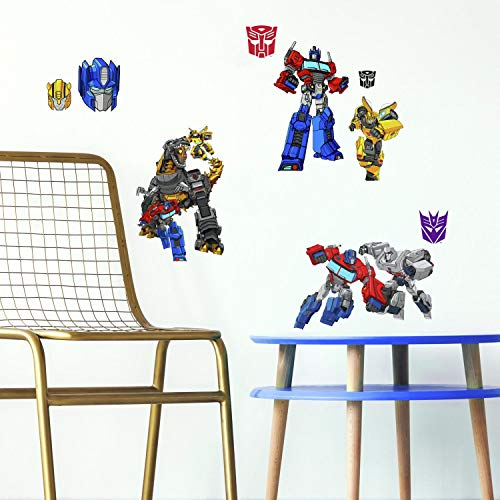(RoomMates Transformers Cyberverse Peel And Stick Wall Decals)