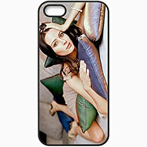 Personalized iPhone 5 5S Cell phone Case/Cover Skin Amy Acker Black