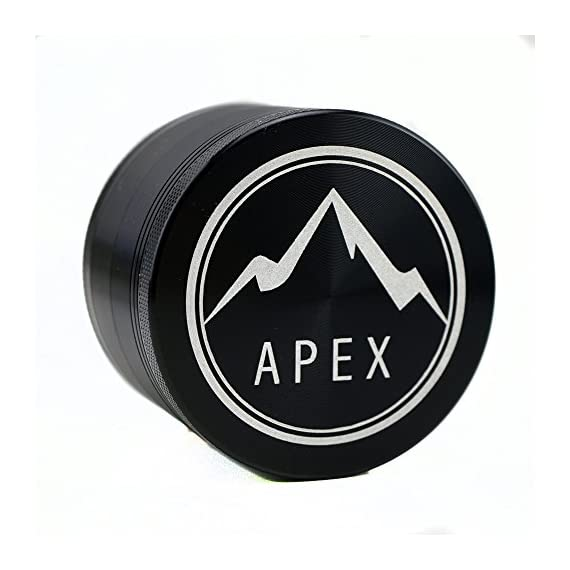 Herb Grinder Apex Premium 4 Piece With Pollen Catcher 2.5 Inch 4 piece grinder Top Rated Herb Grinder Includes carrying case and pollen scraper (Champagne Platinum) 7 <p>GET THE MOST OUT OF YOUR HERBS, WITH THE UNIQUE ATTENTION GRABBING STYLE OF AN APEX PREMIUM-QUALITY HERB GRINDER TODAY FREE Shipping - Lifetime Warranty - Order Now Save Money by Conserving Your Herbs - Using the newest in CNC technology, our blades are the sharpest and most effective of any grinder ever made giving you a slower burning, longer lasting herbal experience. Pump Up the Potency - Our strong steel screens are perfect for collecting the finest pollen, and increasing the potency of your herbs. We even include a pollen scraper to maximize pollen collection. World's Smoothest Grinding Experience - The magnetic top and friction reducing ring to allow for the smoothest grinding experience possible. Built to Last a Lifetime - Apex grinders are made from the highest quality aircraft grade aluminum making them tougher, and more durable than other grinders. Lifetime Warranty and FREE Shipping - If for any reason you're unsatisfied with your Apex Premium-Quality Herb Grinder, you can send it back for a full refund. No questions asked.</p>