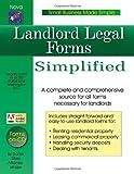 Landlord Legal Forms Simplified, Daniel Sitarz, 1892949245
