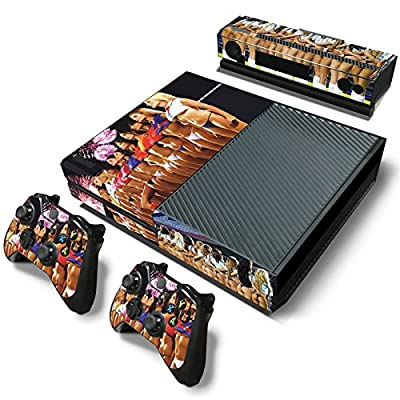 FriendlyTomato Xbox One Console and 2 Controllers Skin Set - Sexy Soccer Girl - XboxOne Vinyl