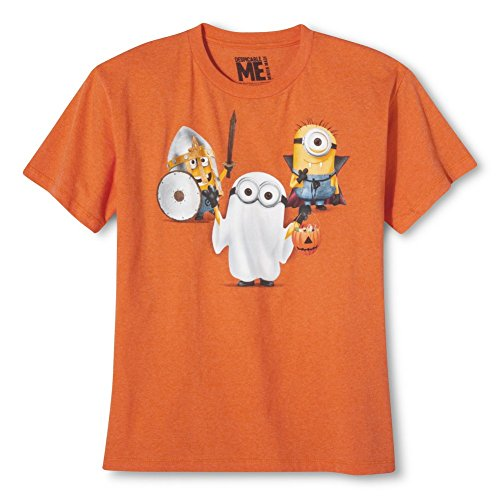 Despicable Me Minion Orange Halloween T-shirt - Me Minion Despicable Tank Top
