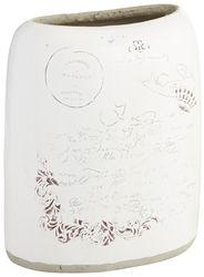 Script Oval Vase - Short | Pier 1 Imports