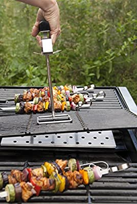 Charcoal Companion CC1089 Grill Grate Lifter, Steel