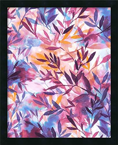 Canvas Art Framed 'Changes - Mauve' by Jacqueline Maldonado ()