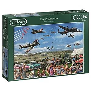 Falcon De Luxe 11195 Family Air Show Puzzle Da 1000 Pezzi